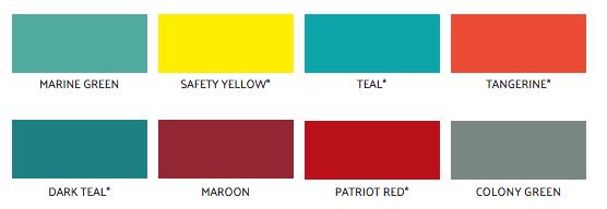 Non-Standard Door Colors