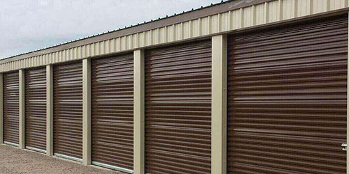 Storage building Doors