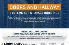 Doors & Hallway Systems for Storage Buildings